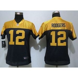 Women Green Bay Packers Aaron Rodgers Jersey (1)